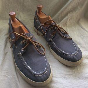 Polo Ralph Lauren Sander 11 canvas boat shoe